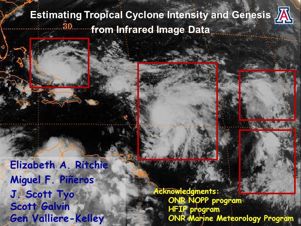 Acknowledgments: ONR NOPP program HFIP program ONR Marine Meteorology Program Elizabeth A.