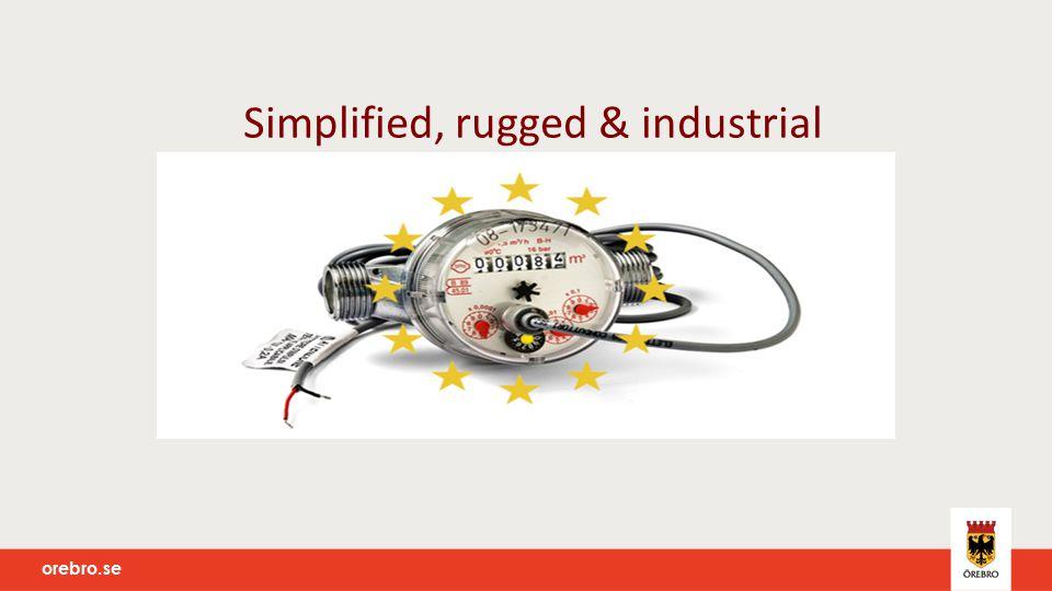 orebro.se Simplified, rugged & industrial