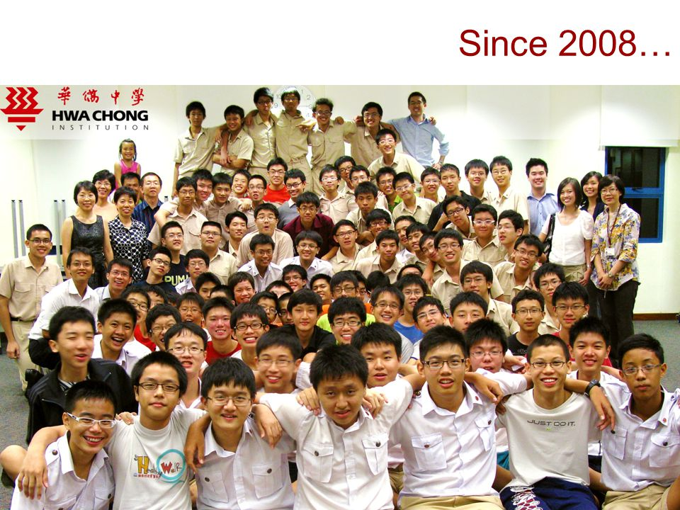 Since 2008…
