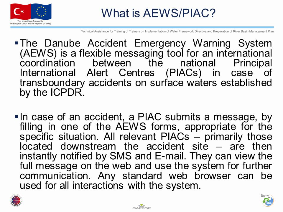 What is AEWS/PIAC.