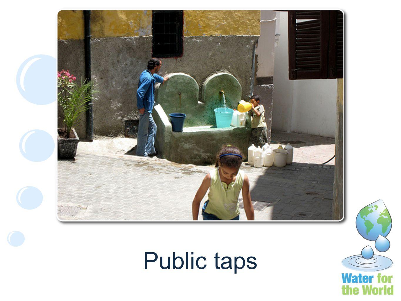 Public taps