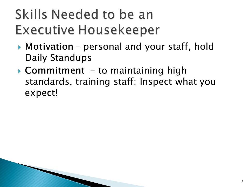  Watch Ten Minute Trainer on Housekeeping YouTube: 40