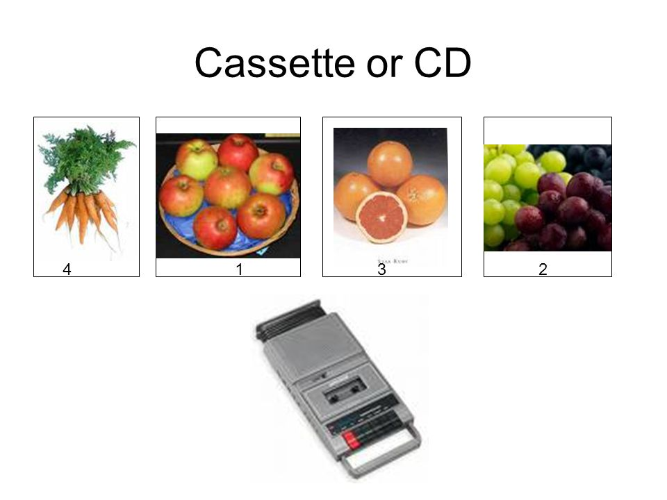 Cassette or CD 41 3 2
