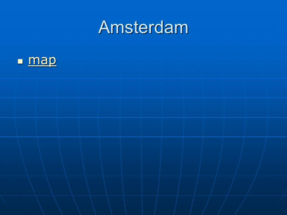 Amsterdam map map map