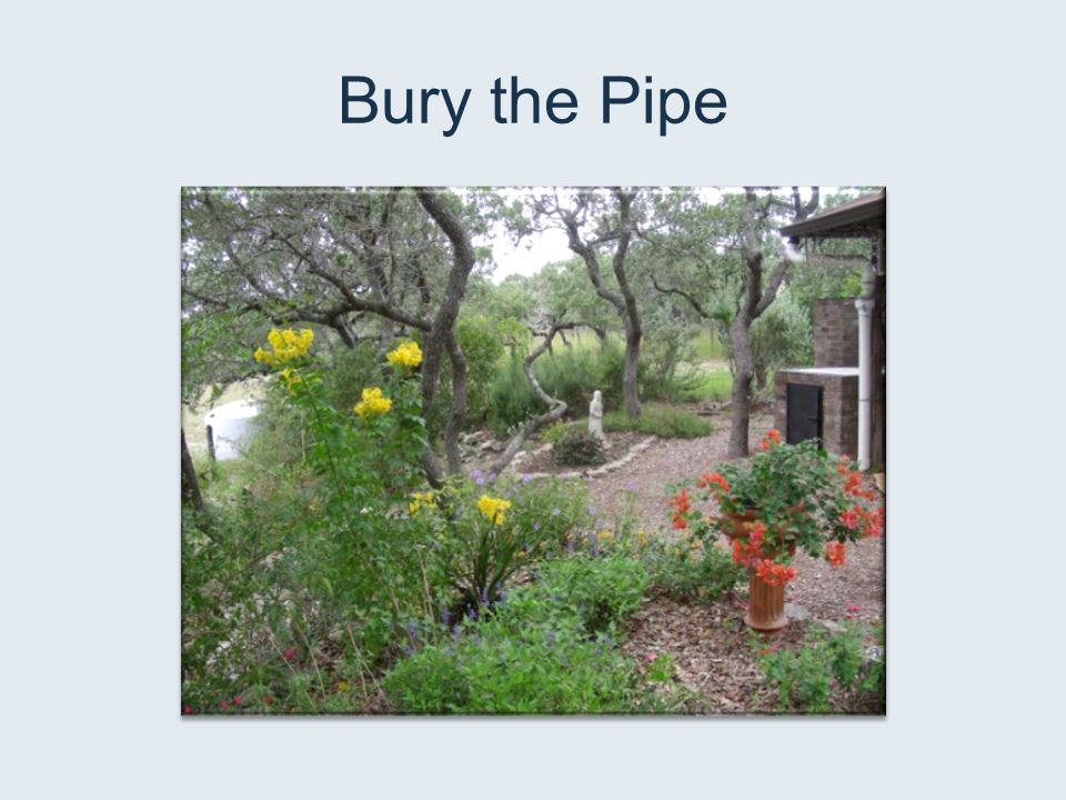 Bury the Pipe