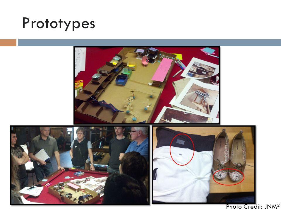 Prototypes Photo Credit: JNM 2