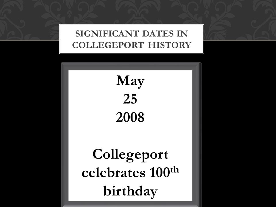 The first newspaper of Collegeport Regulated from 1910-1914 JJ Rodebaugh as publisher After the Collegeport Chronicle stopped regulating JJ Rodebaugh started another newspaper called the Collegeport New Era THE COLLEGEPORT CHRONICLE Pioneer dedication that was placed there in 2007