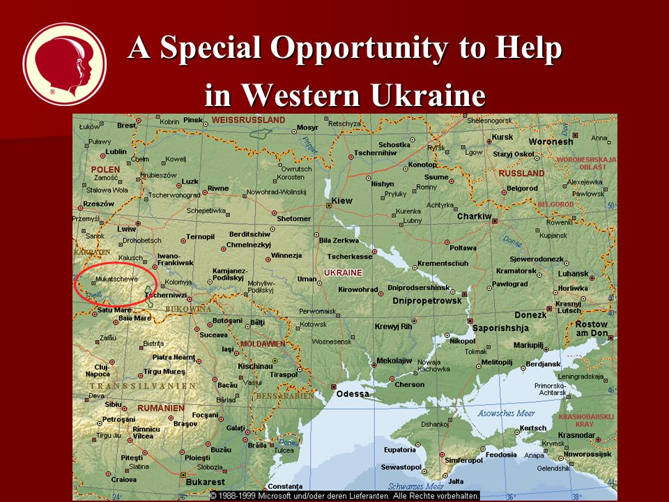 A Special Opportunity to Help in Western Ukraine