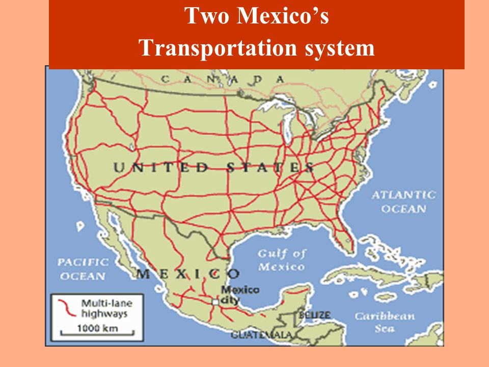 Two Mexico s regional disparities