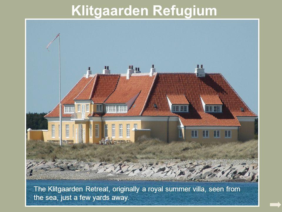Klitgaarden Refugium The Klitgaarden Retreat, originally a royal summer villa, seen from the sea, just a few yards away.
