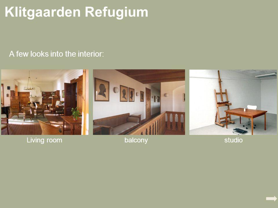 Klitgaarden Refugium A few looks into the interior: Living roombalconystudio
