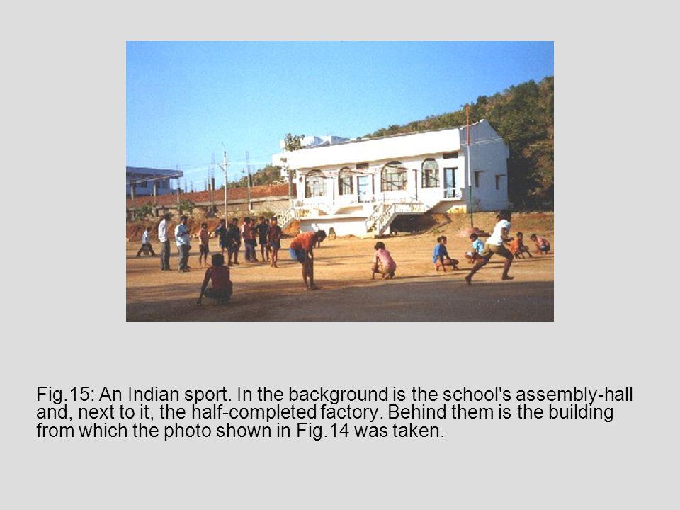 Fig.15: An Indian sport.