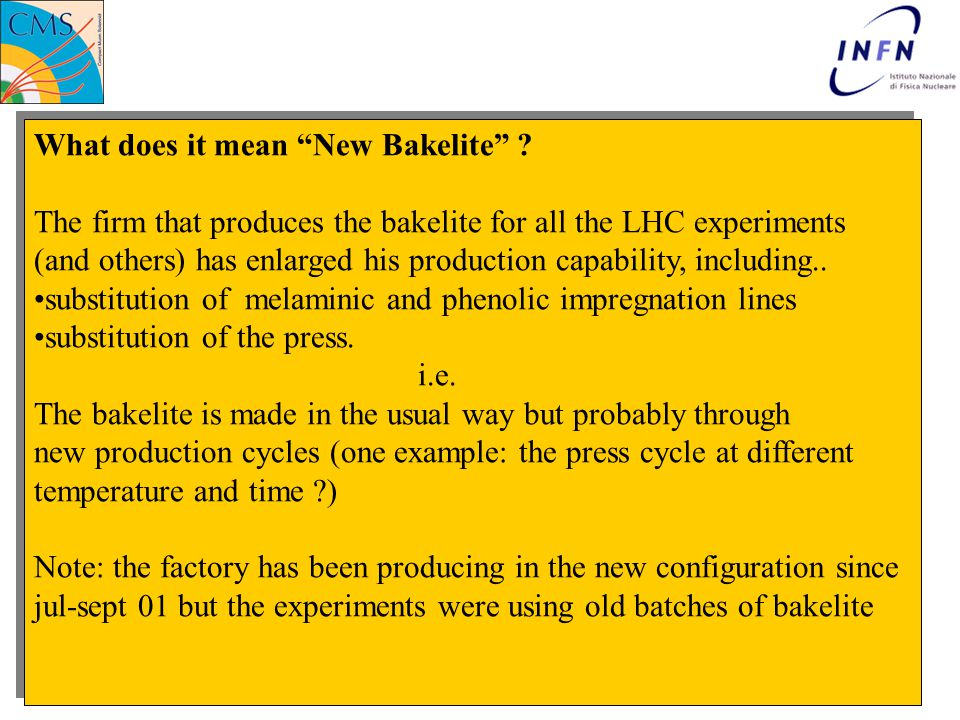 What does it mean New Bakelite .