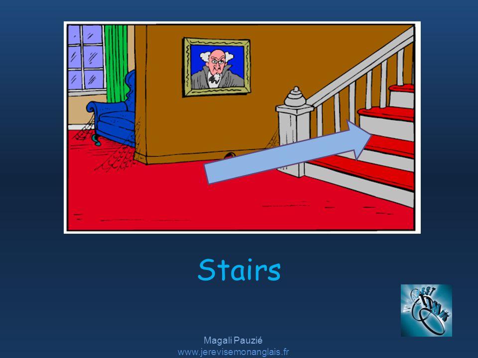 Magali Pauzié www.jerevisemonanglais.fr Stairs