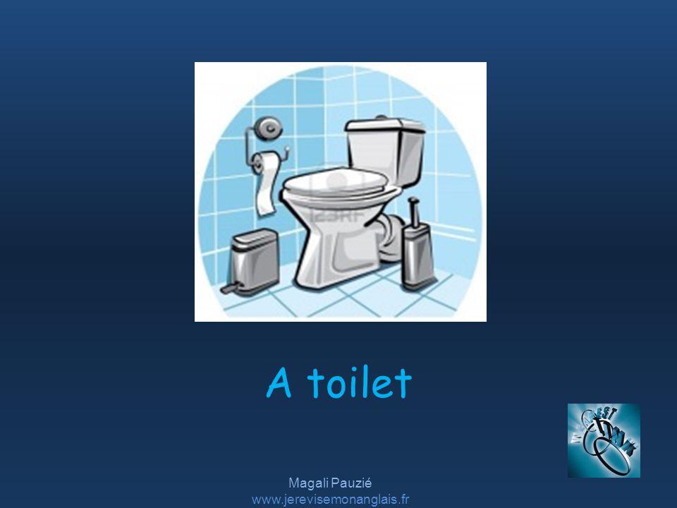 Magali Pauzié www.jerevisemonanglais.fr A toilet