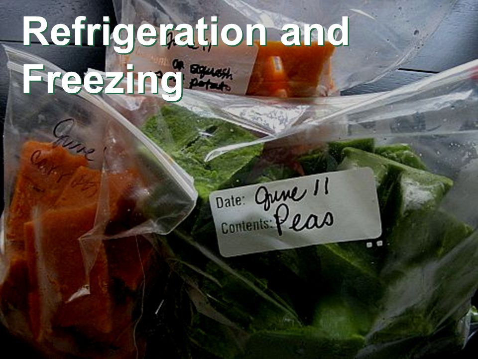 Refrigeration and Freezing