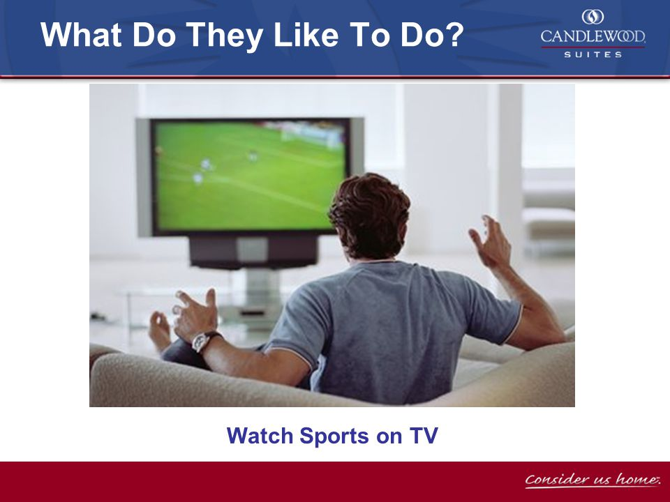 Watch Sports on TV What Do They Like To Do