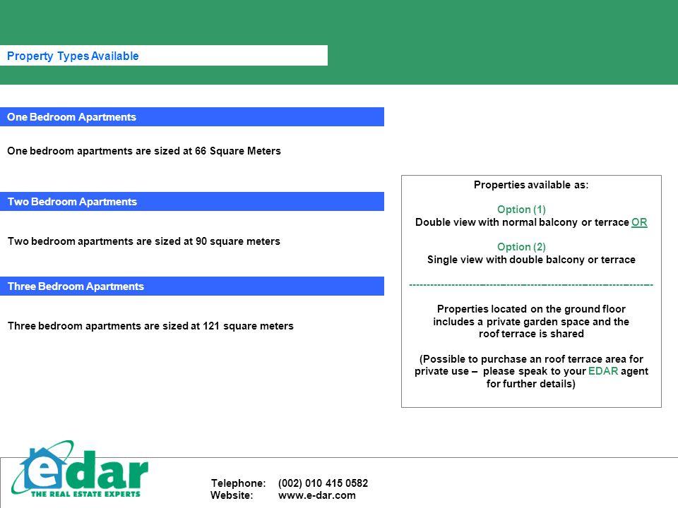. Property Images Telephone: (002) 010 415 0582 Website: www.e-dar.com