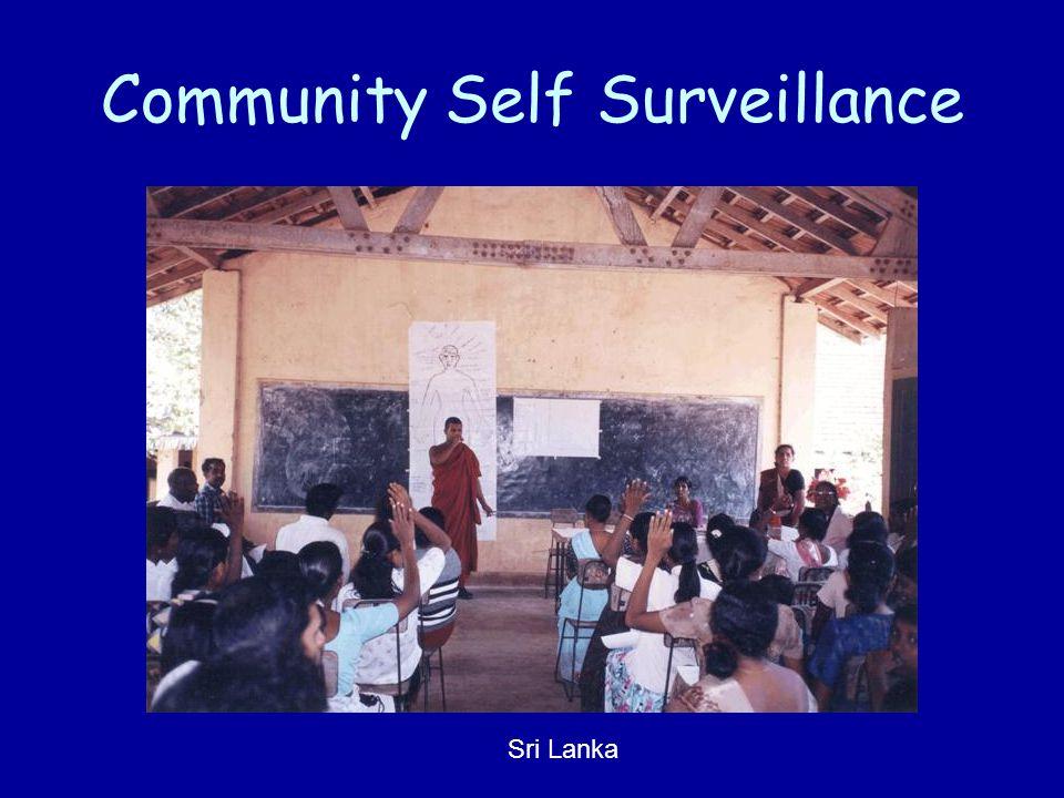 Community Self Surveillance Sri Lanka