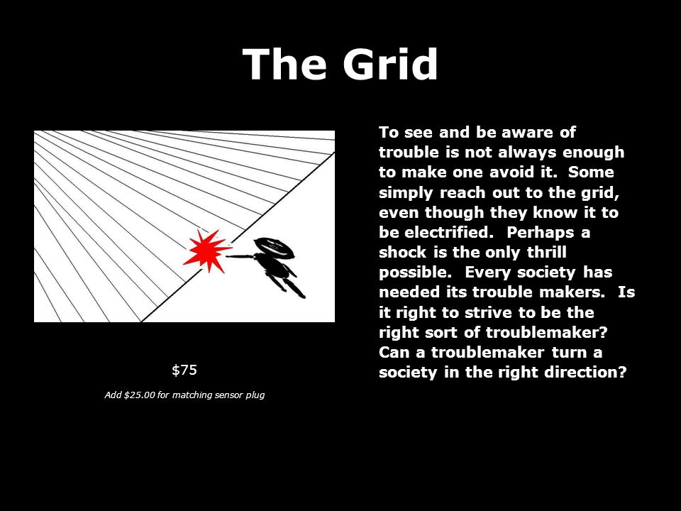 The Grid To see and be aware of trouble is not always enough to make one avoid it.