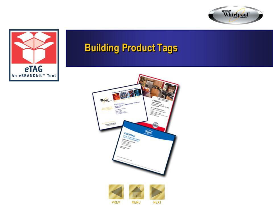NEXT PREVMENU Building Product Tags