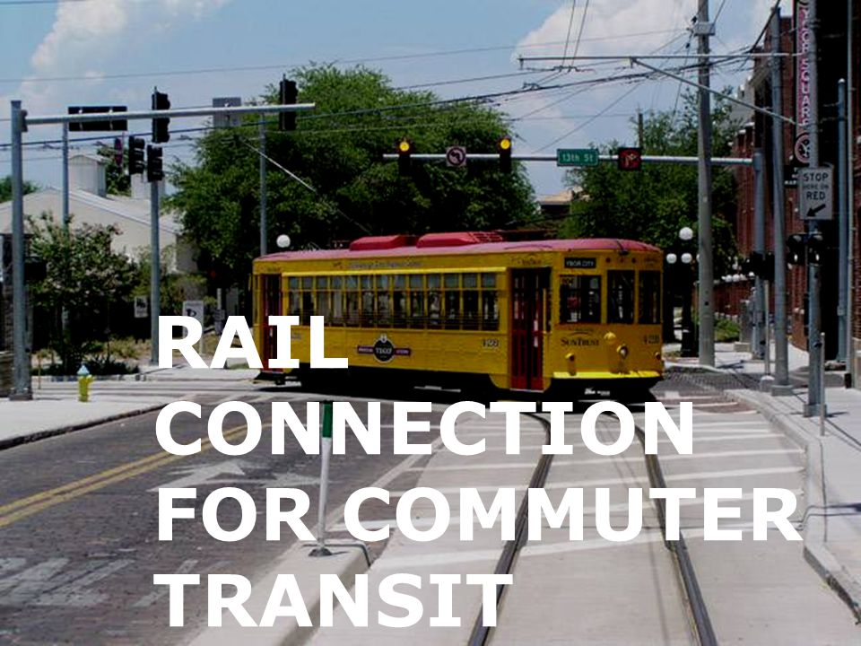 RAIL CONNECTION FOR COMMUTER TRANSIT