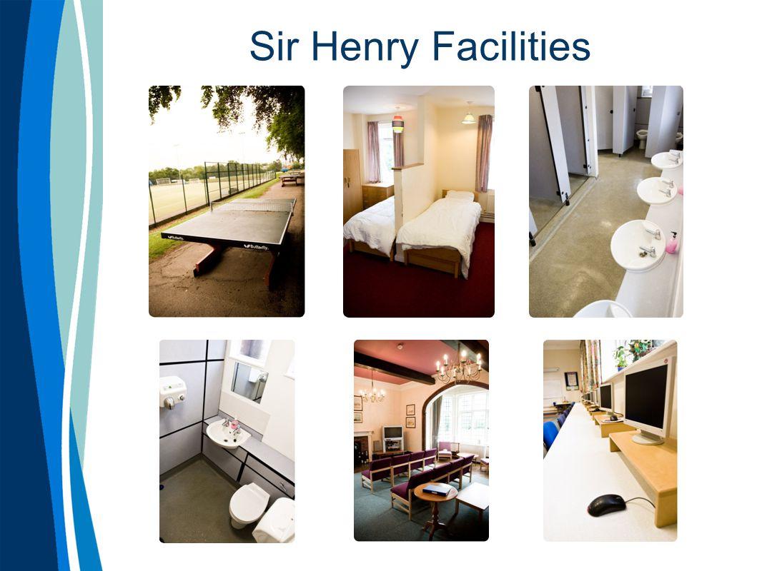 Sir Henry Facilities