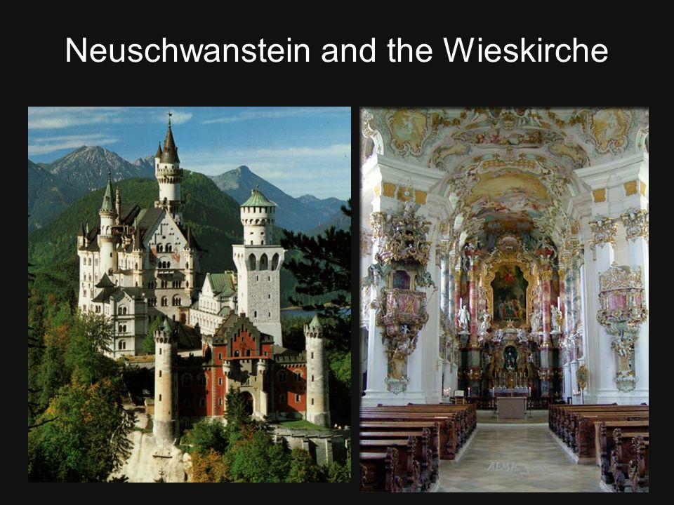 Neuschwanstein and the Wieskirche