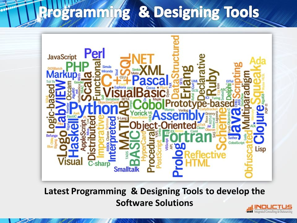 Latest Programming & Designing Tools to develop the Software Solutions