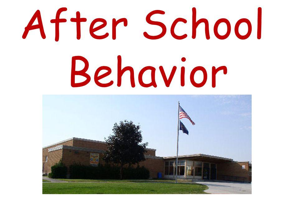 _________ behavior picture Exiting grade level doors Polite words and actions Meet others outside away from doors Walk in hallways Stay in crosswalks and sidewalks Walk bikes KYHFOOTY