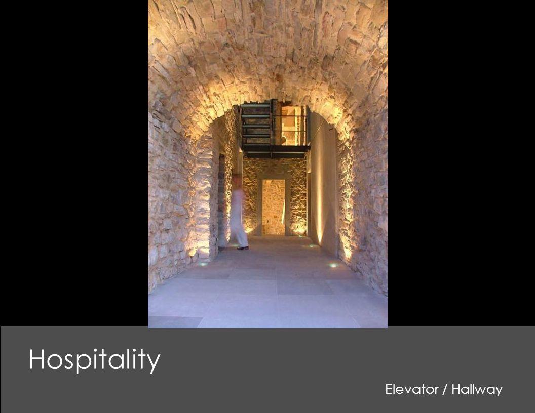 Hospitality Elevator / Hallway