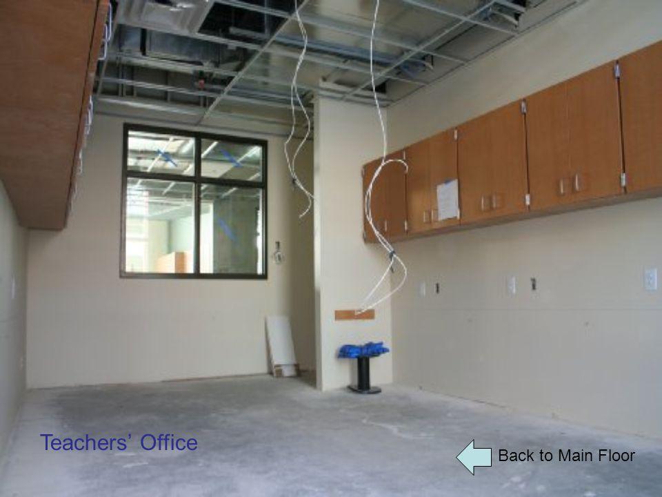 Back to Main Floor Teachers' Office