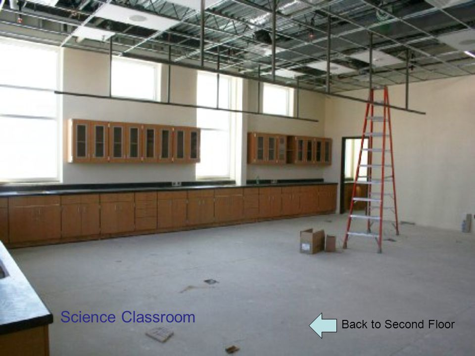 Back to Second Floor Science Classroom
