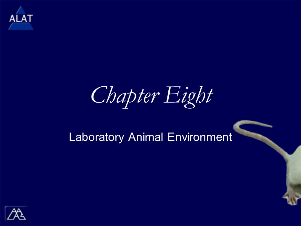 Chapter Eight Laboratory Animal Environment