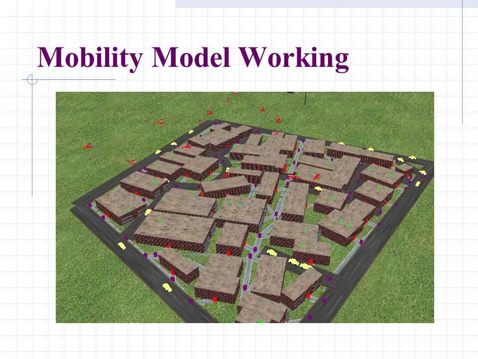 Mobility Model Working