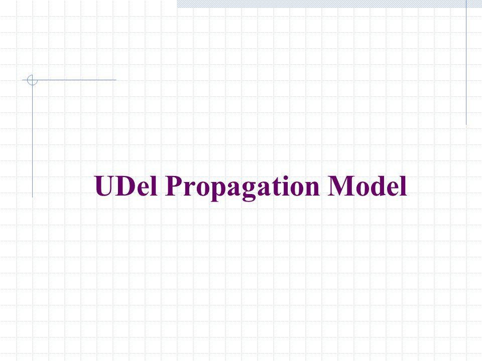 UDel Propagation Model