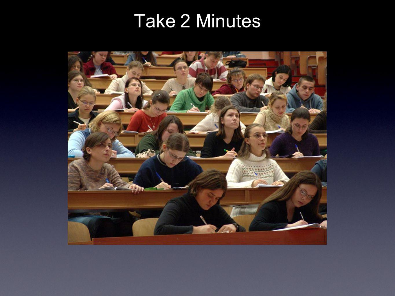 Take 2 Minutes