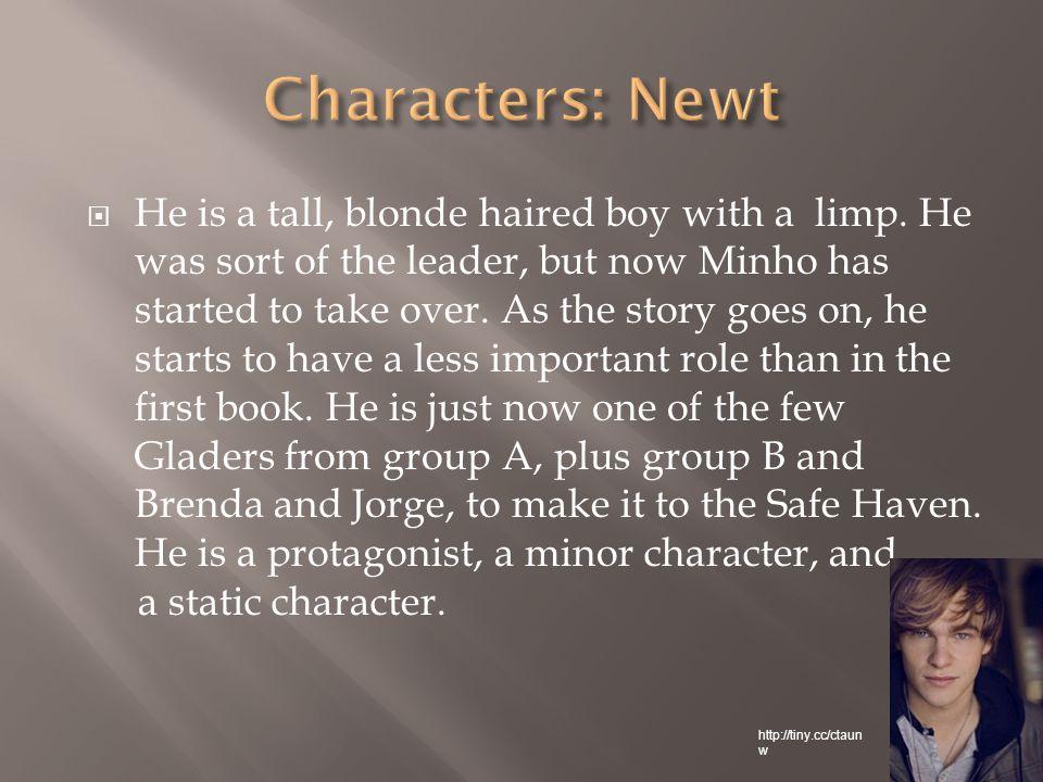  Aris has olive skin, and short, dark hair, like Minho.