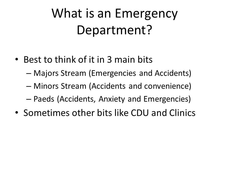 What's happening now.The average ED Journey time is increasing, esp for admissions.