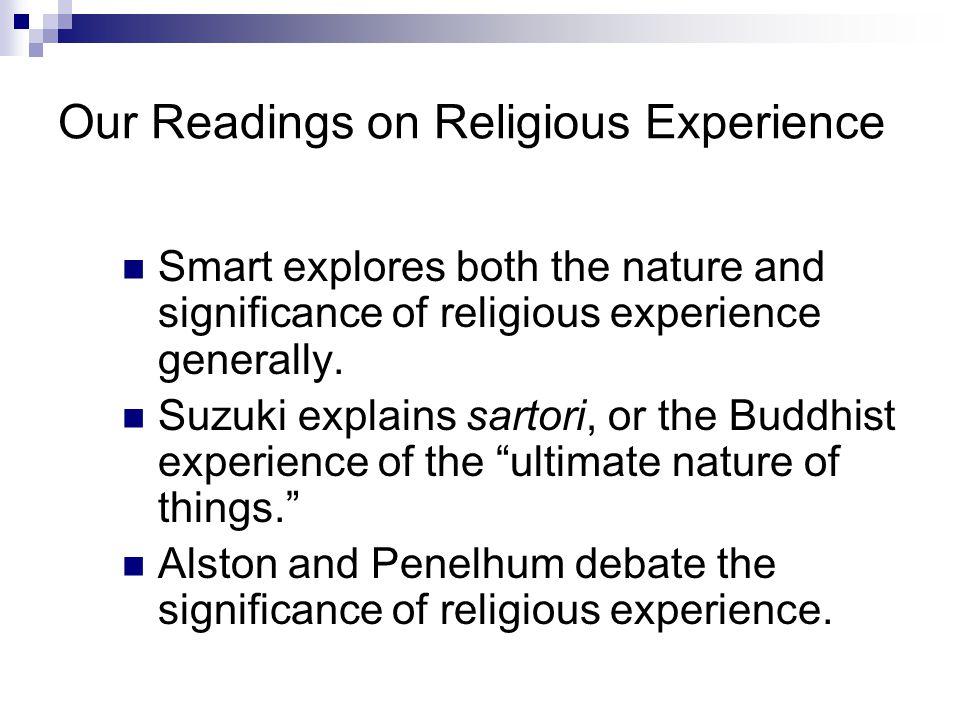 Penelhum's Response Other observations: 1.