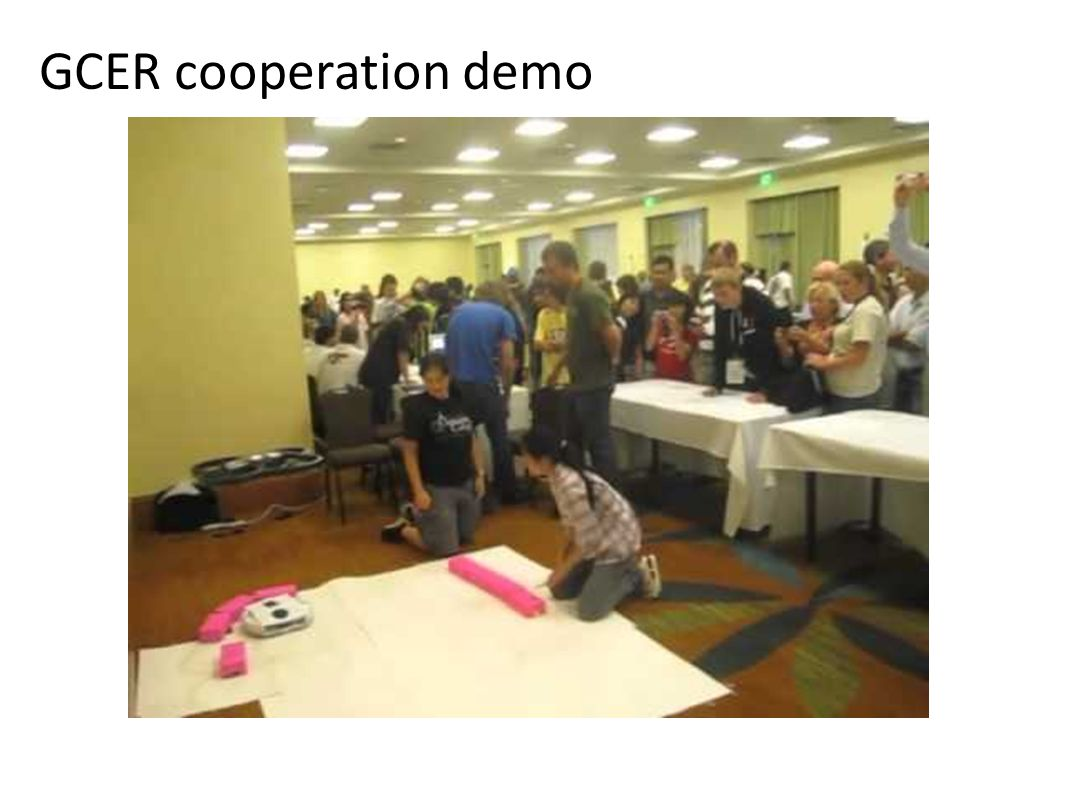 GCER cooperation demo