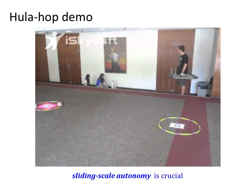 Hula-hop demo sliding-scale autonomy is crucial