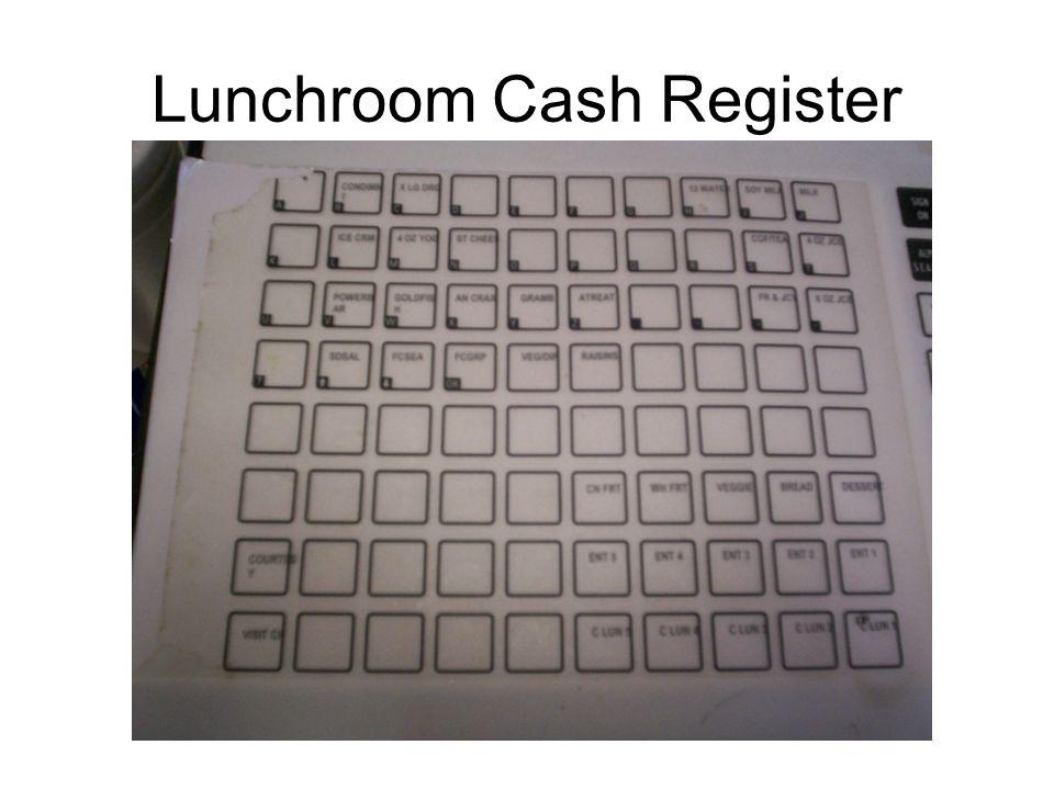 Lunchroom Cash Register