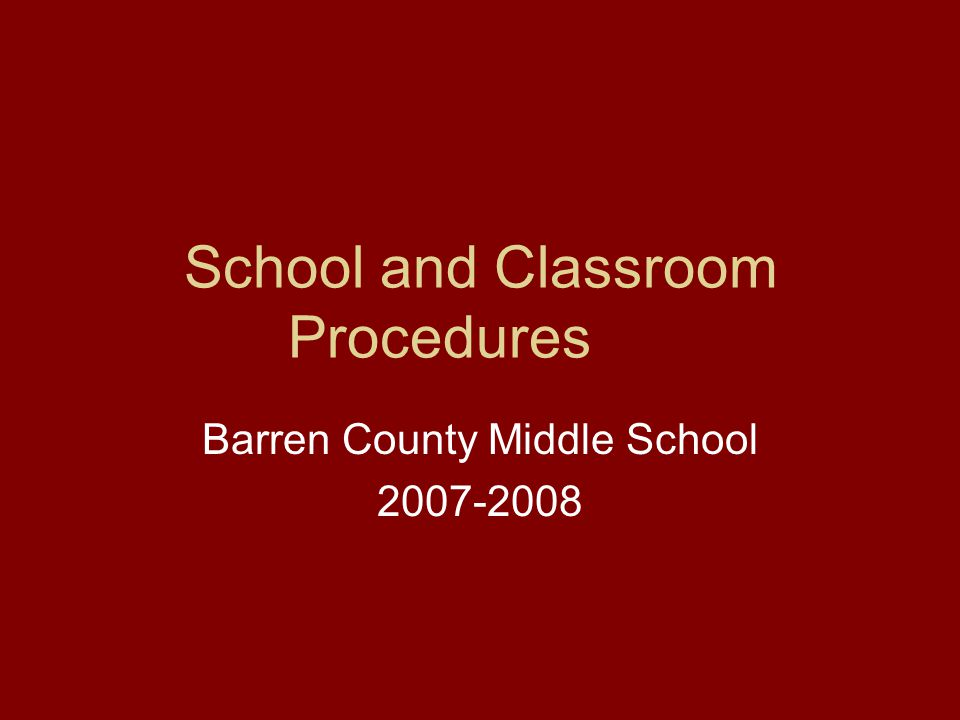BCMS GUIDELINES FOR SUCCESS: Be Respectful Contribute Positively Make A Difference Seek Knowledge