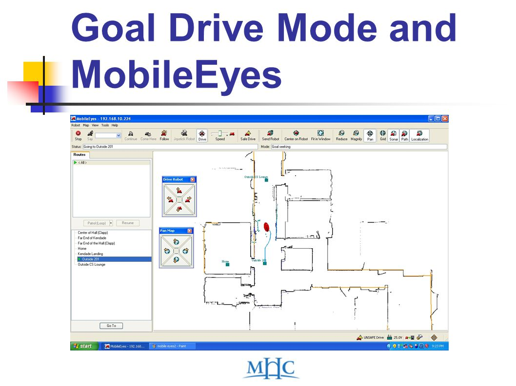 Goal Drive Mode and MobileEyes