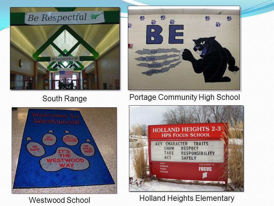 Westwood School Portage Community High School South Range Holland Heights Elementary
