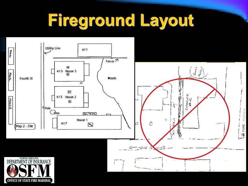 NFPA 1142 Fireground Layout