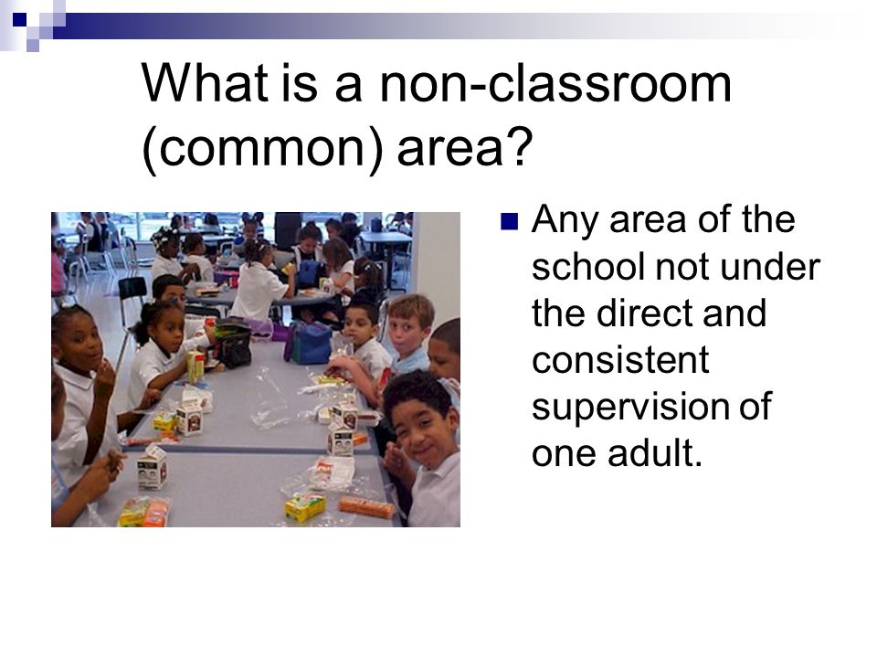 Examples of Non-classroom Interventions