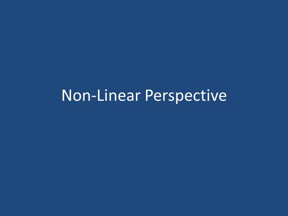 Non-Linear Perspective