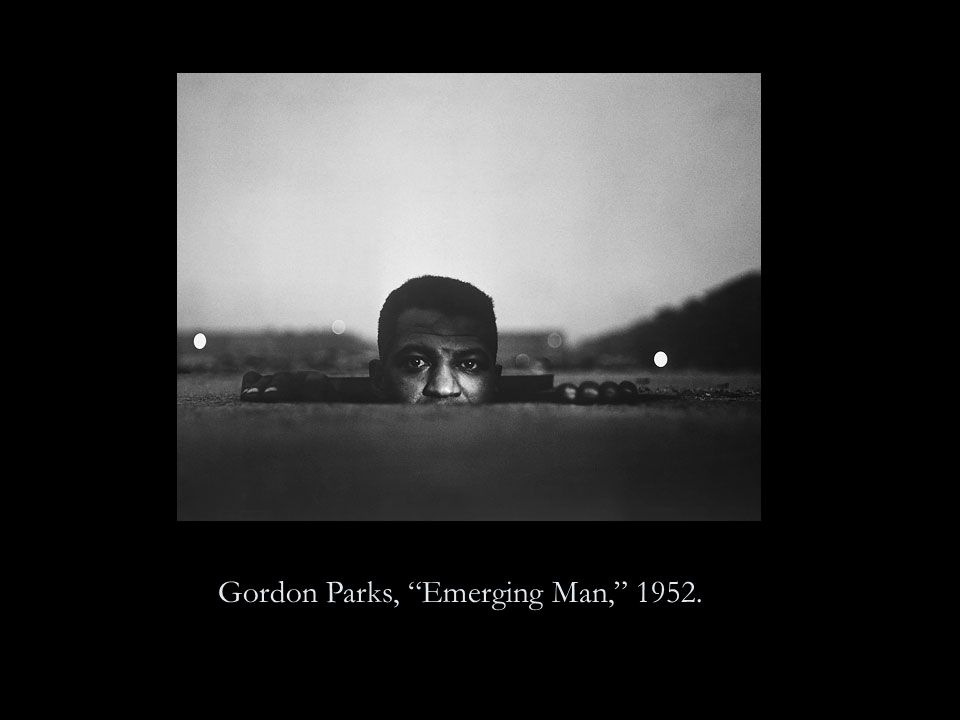 Gordon Parks, Emerging Man, 1952.